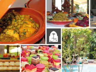 Brunch dimanche Marrakech Les Jardins de la Médina